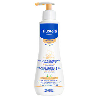 Mustela Nourishing Cleansing Gel For Dry Skin 300ml Online Only