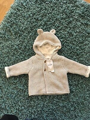 Lovely Boys Knitted Jacket 0-3 Months
