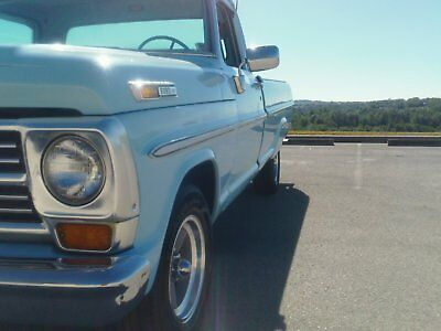 1968 Ford F-100  68 FORD TRUCK FACTORY A/C FACTORY POWER BRAKES FACTORY POWER STEERING