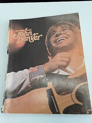 Vintage Sheet Music - John Denver Album  - Original