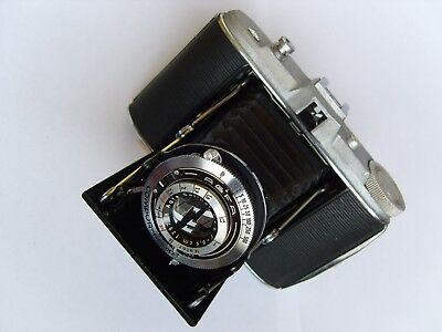 Agfa Isolette Solinar 1:4,5/85mm 1-1/500 6x6cm Service TOP