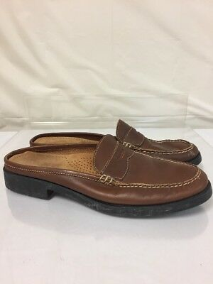 28fb72116b7 Bass Peggy WEEJUNS Women s 11 M Brown Leather Penny Loafers Shoes NICE