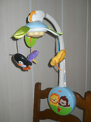 Fisher Price Mobile Portatif Douce Planete
