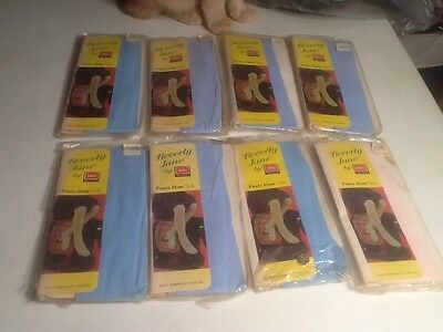 Vtg HANES BEVERLY JANE CHILDRENS NYLON PANTYHOSE Girls Size 0-1-3