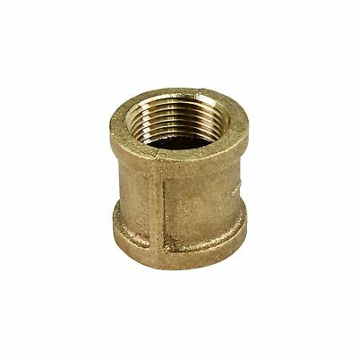 Everflow 3/4 Inch Two Female NPT Threaded Lead Free Brass Coupling, Easy to Use