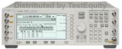 Agilent / Keysight E4438C-503 3 GHz Vector Signal Generator - Stock Photo