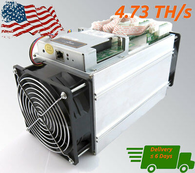 Bitmain Antminer S7 4.73TH Bitcoin & BCH ASIC Miner - Fully Tested Hashing 100%
