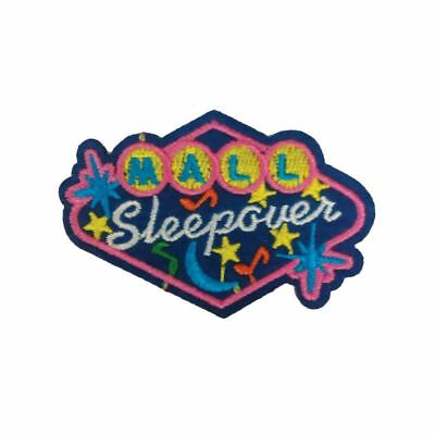 Mall Sleepover (Iron On) Embroidery Applique Patch Sew Iron Badge