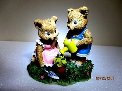 "Bear Seasons ""Cultivating Cubs"" Exclusive Special Editions Figurine"