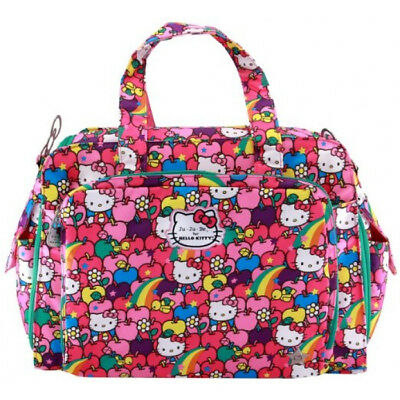 Ju-Ju-Be Be Prepared Diaper Bag-Hello Kitty  Lucky Stars  FREE PRIORITY Shipping