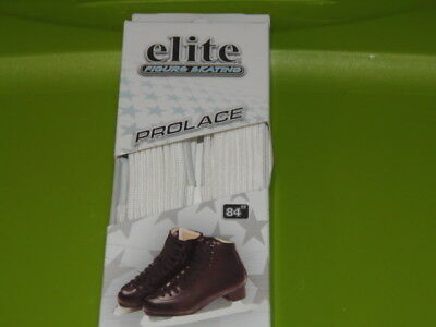 "New Elite Figure Skating  Pro Laces, White, Size  84"" / 213 Cm (Rm-6)"