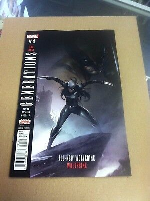 Generations:The Best:All New Wolverine/Wolverine.2nd printing Mattina cover.