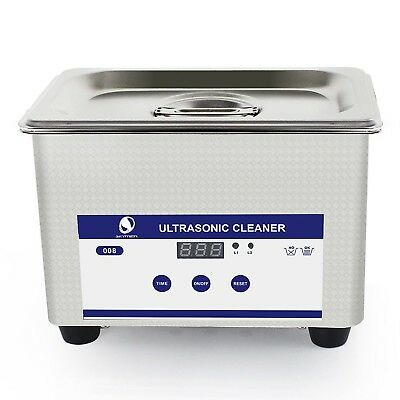 Skymen Professional Ultrasonic Cleaner with Digital Timer for Cleaning Jewelr...