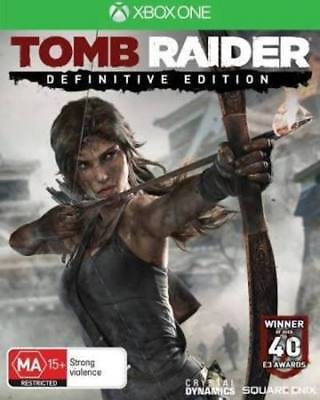 TOMB RAIDER DEFINITIVE EDITION Microsoft Xbox One Game