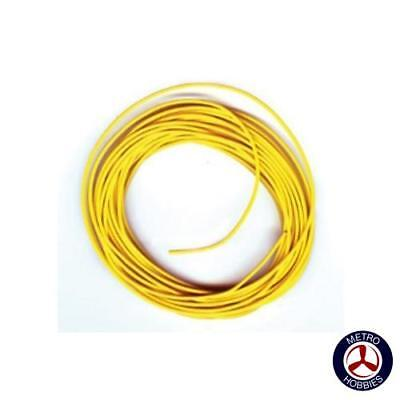 Peco Electrical Wire Yellow 3A PEC-PL38Y Brand New