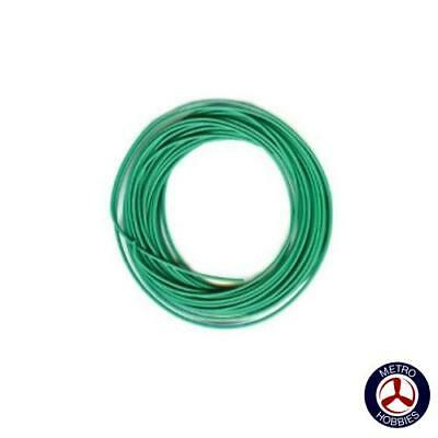 Peco Electrical Wire Green 3A PEC-PL38G Brand New