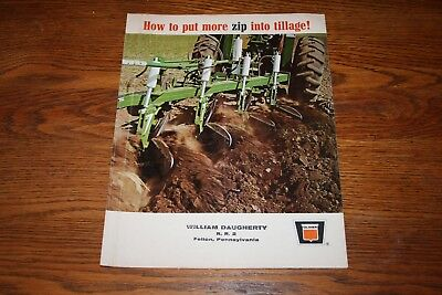 Oliver Tractor How to Put More Zip into Tillage William Daugherty Felton PA