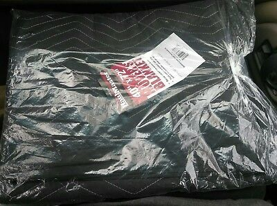 """New HaulMaster 40"""" x 72"""" Movers Moving Blanket By Haul Master & Harbor Freight"""