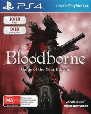 BLOOD BORNE  Sony Playstation 4 PS4 Game