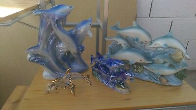 My 10 pc Vintage Dolphin Collection