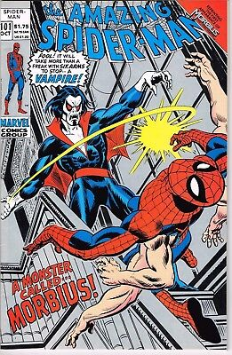 Amazing Spider Man #101 Reprint (1992) - 8.5 VF+ *1st Appearance Morbius*