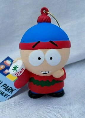 South Park Comedy Central STAN W STOCKING X-MAS ORNAMENT HOLIDAY KURT ADLER MINT