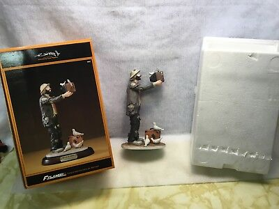 Hand Signed Emmett Kelly Jr. Signature Collection Flambro #9862 Watch The Birdie