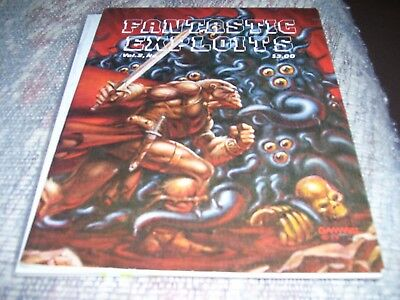 FANTASTIC EXPLOITS Volume 2 #1 James Van Hise  Marc Hempel 1980