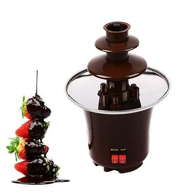 Chocolate Fountain Party 3 Tier Fondue Fruit Marshmallow Events Parties Wedding