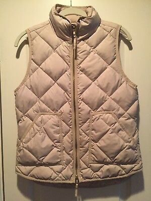 J.Crew Women's Quilted Excursion Puffer Vest Size XS