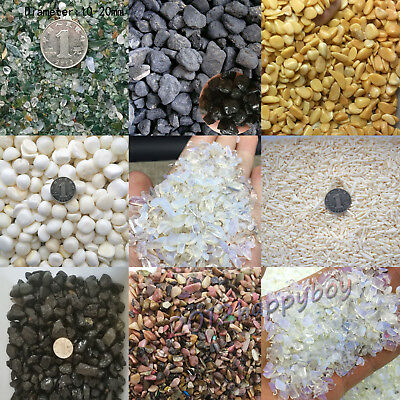 9Style Colorful 50g Natural Opal Crystal Stone Luck Gravel DIY Fish Tank Decor