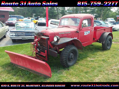 1950 Dodge Power Wagon  1950 Dodge power wagon - runs and drives - very rare - low reserve