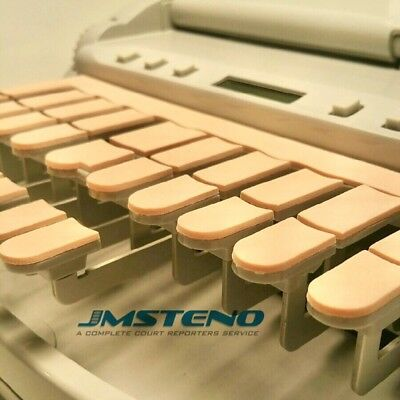 StenoWriter Pink Thin Sponge Keytop Covers