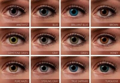 New Beautiful Fresh Colored Lenses Cosmetic Color Contacts Circle Lens