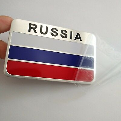Russian FLAG Stickers Decals Emblems for Jeep Truck SUV 4x4 Car Patriotic