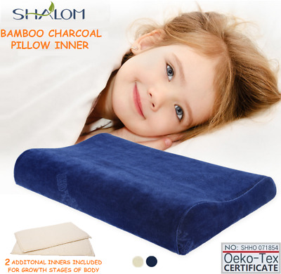 3 layers Adjustable First Pillow Kids Toddler Cot to Bed Transition Memory Foam
