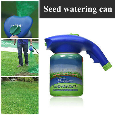 Home Garden Household Seeding System Liquid Spray Device For Seed Lawn Care