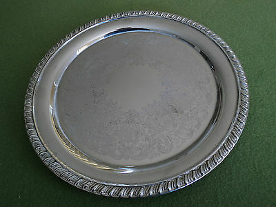 Ranleigh Silver Ornate Tray