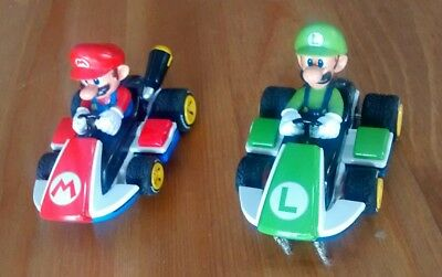 Carrera Go Slot Cars Mario and Luigi