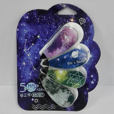 Quality Star Sky Correction Tape Stationery School Writing Supplies Kawaii