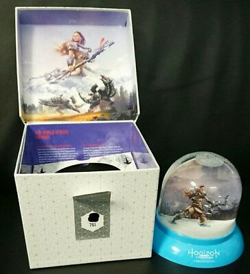 PS4 Horizon Zero Dawn Frozen Wilds Complete Edition Press Kit Limited to 761!!!