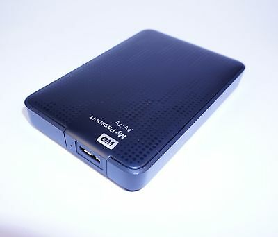WD My Passport AV-TV tragbarer Medienspeicher 1TB schwarz