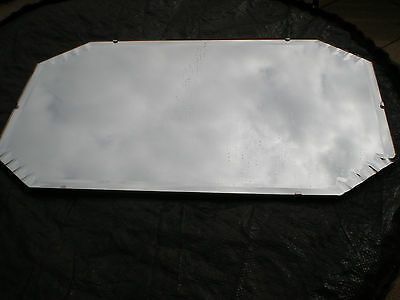 Antique/Vintage/Retro Frameless Wall Mirror 50's or earlier? Good condition