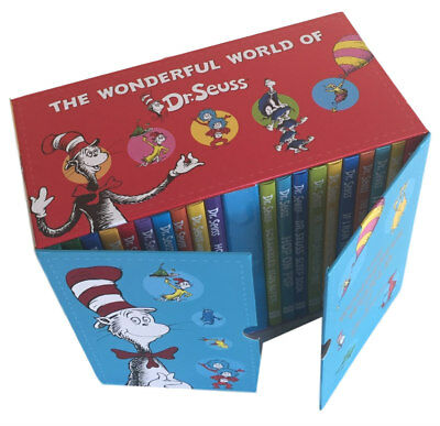 The Wonderful World Of Dr Seuss 20 Book Classic Collection Box Set Gift Kids New