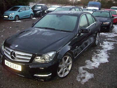 2012 Mercedes C250 Sport Cdi Blueefficiency - Damaged/repairable - Cat S