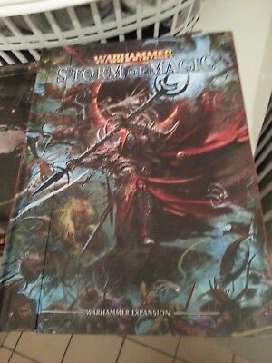 Warhammer Fantasy Expansion Storm of Magic Hardcover OOP