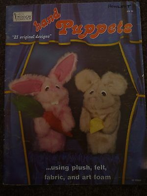 Hazels Needlework Collection - Hand Puppets Pattern Book - As New