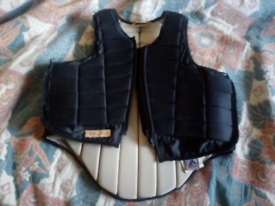 Racesafe adult small 2010,black,used but good condition