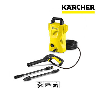 Karcher K2 Compact Pressure Washer 1400W With On Board Storage 16731220