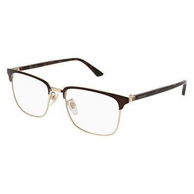 Eyeglasses Gucci GG 0130 O- 002 002 BROWN / AVANA